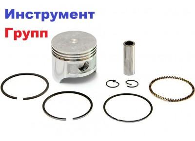Поршень бензогенератора универсальный 1,5 кВт, D=53 мм