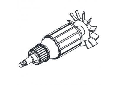 Якорь (ротор) для ленточной шлифмашины 650Вт