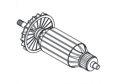 Якорь (ротор) для лобзика ТАЙГА (156*35)