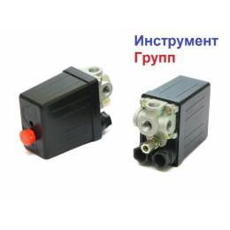 Автоматика для компрессора (Прессостат) 220В 3 выхода