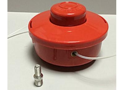 Шпуля триммера бензокосы с адаптером.