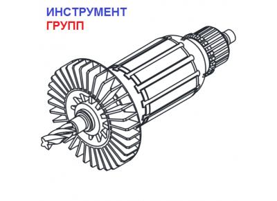 Якорь (ротор) для дрели Ритм 850 Вт