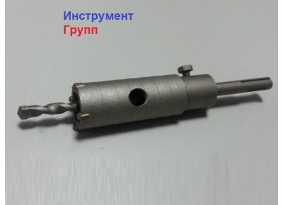 Коронка по бетону диаметр 30 мм SDS+