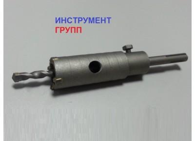 Коронка по бетону диаметр 35 мм SDS+