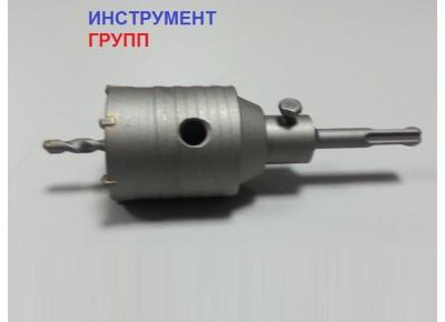 Коронка по бетону диаметр 55 мм SDS+