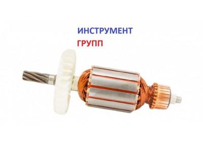 Якорь (ротор) для электрокосы (триммера)  Зенит ЗТС-1600