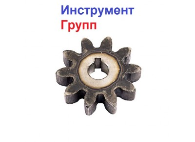 Шестерня на бетономешалку 10 зубов (15*63*14)