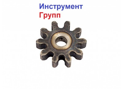 Шестерня на бетономешалку 10 зубов (15*65*15)