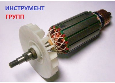 Якорь (ротор) для УШМ болгарки ТАЙГА 180 (181*42)