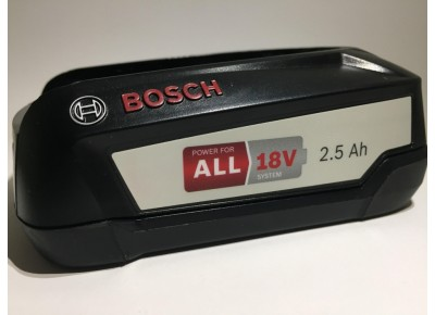 Аккумулятор Bosch PBA 18 V 2,5 Ah W-B Li-Ion